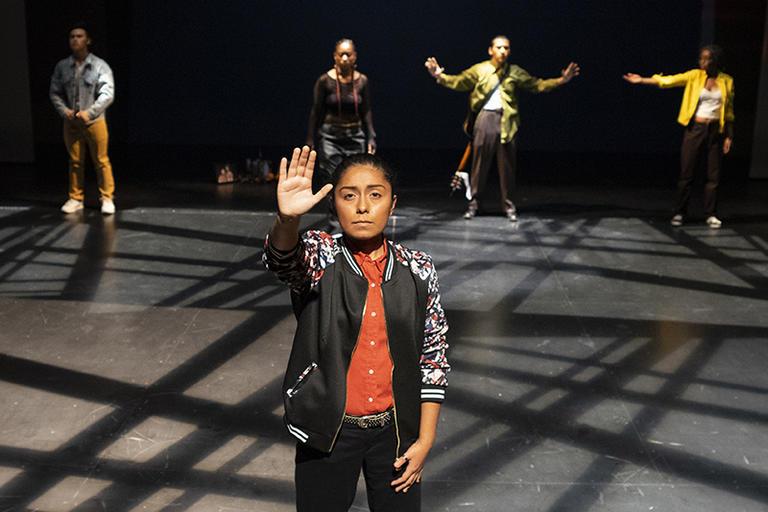 "Daniela Cervantes in ""Who Shot La Miguelito?"" | October 2019"