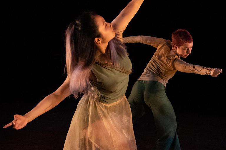 2018 Fall Choreography Showcase | Alice Wang and Bruna Gill