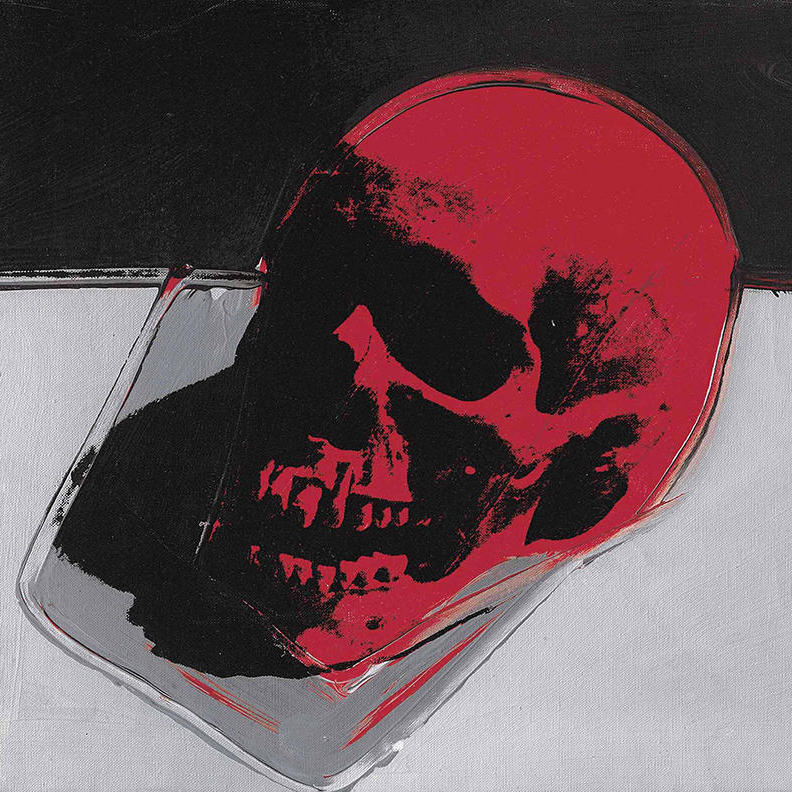 """""""Skull"""" by Andy Warhol"""