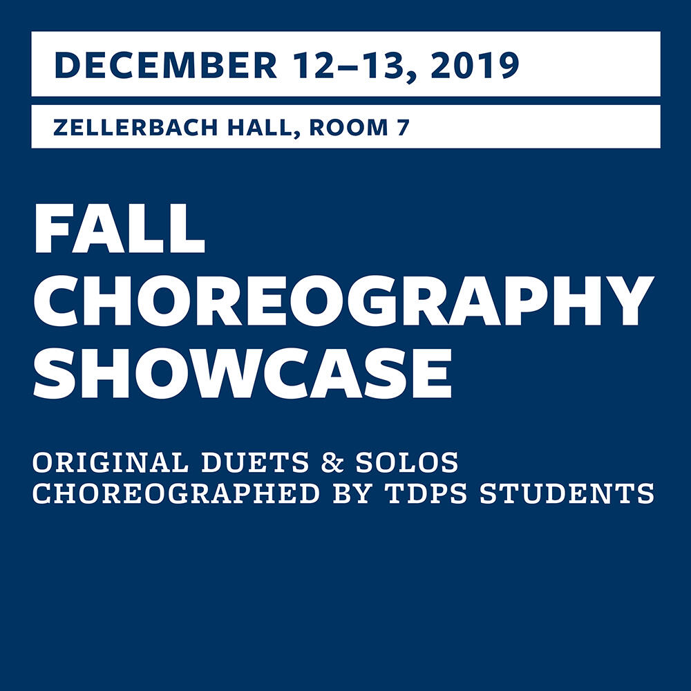 2019 Fall Choreography Showcase