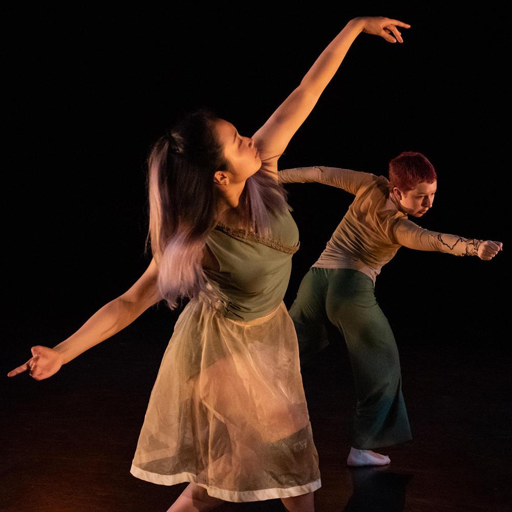 2018 Fall Choreography Showcase   Alice Wang and Bruna Gill
