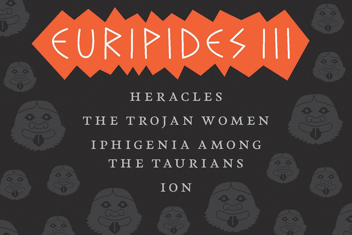 """Euripides III"" book cover"