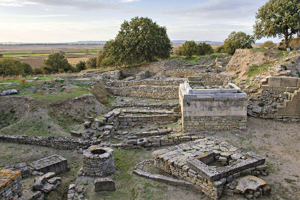 The ruins of Troy