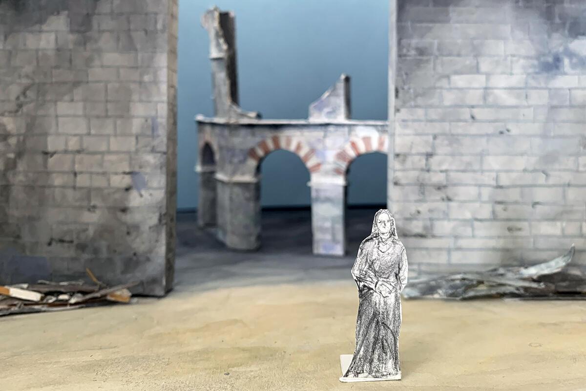 Trojan Women Scenic Design